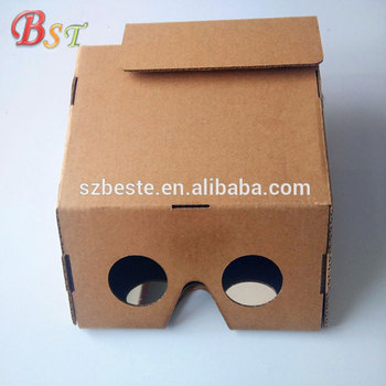 2018 ar cardboard virtual reality video google 3d glasses fit for Android and ios systems