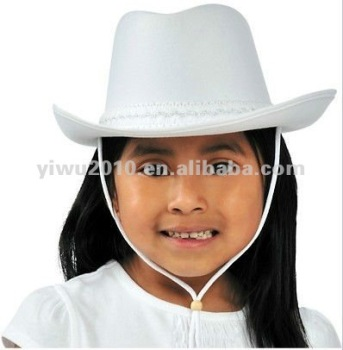 Child White Cowboy Hat fb977ae111c