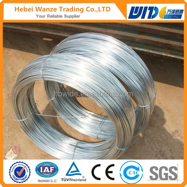 Galvanized Wire 6.0mm Bwg4 Hot Dipped Galvanized Wire Gi Wire 6.0mm ...