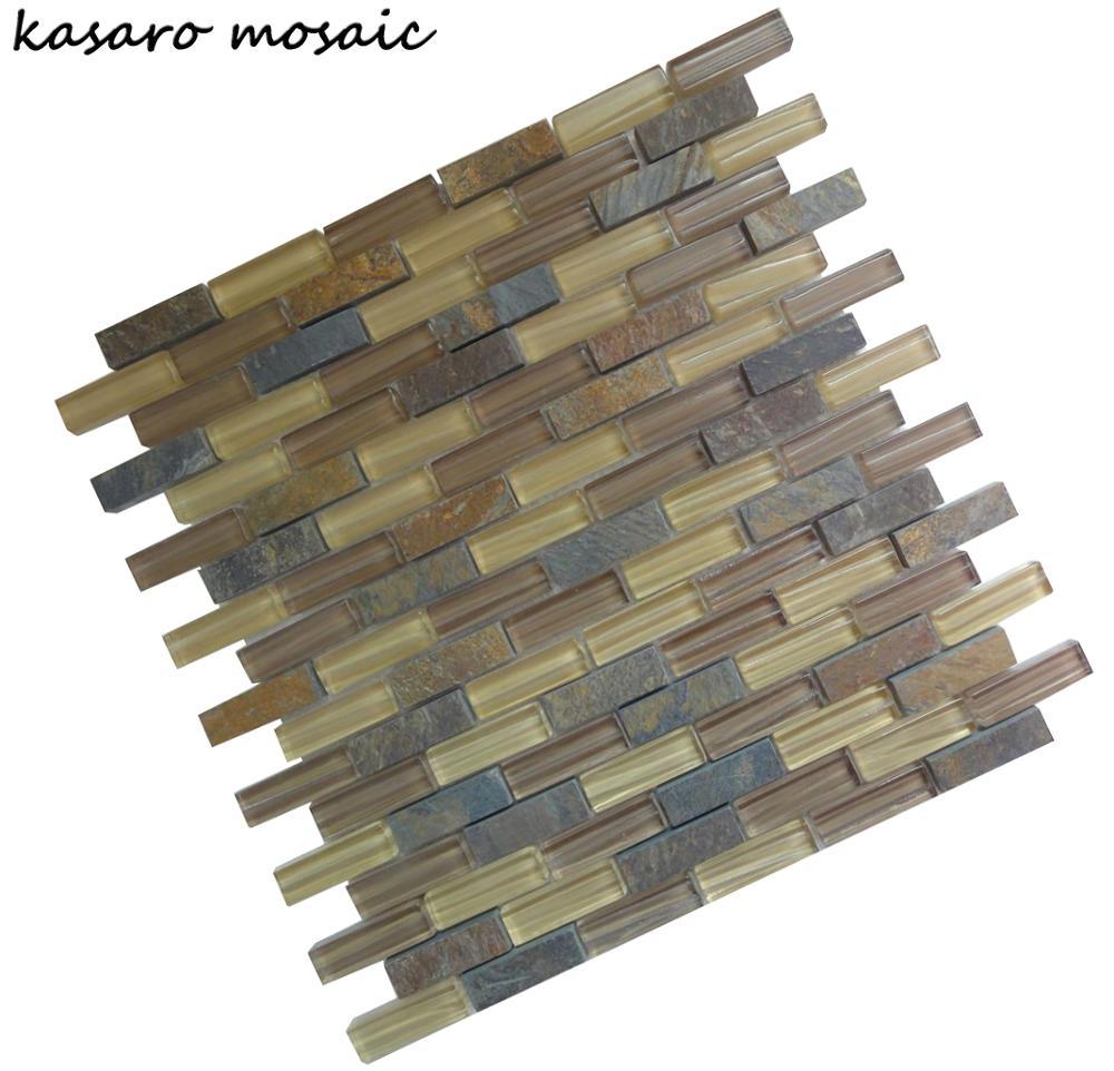 Mosaik Badezimmer Bodenfliesen, Küche Backsplash Fliesendesigns Ksl C11157