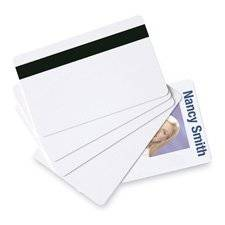 """Baumgartens : PVC ID Card,CR80 Size,30 mil Thick,2-1/8""""x3-3/8"""",100/PK,WE -:- Sold as 2 Packs of - 100 - / - Total of 200 Each"""