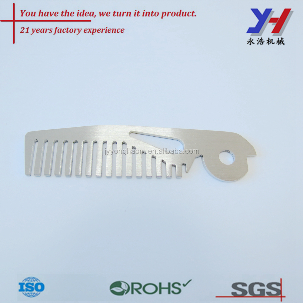 OEM ODM custom high quality stainless steel pet metal comb