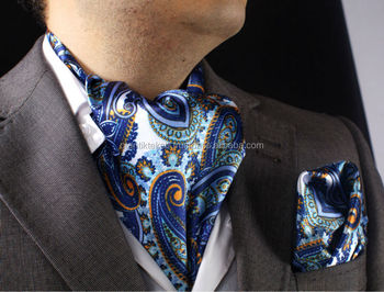 Cravat, Tie, Scarf Kravate With Pocket Square