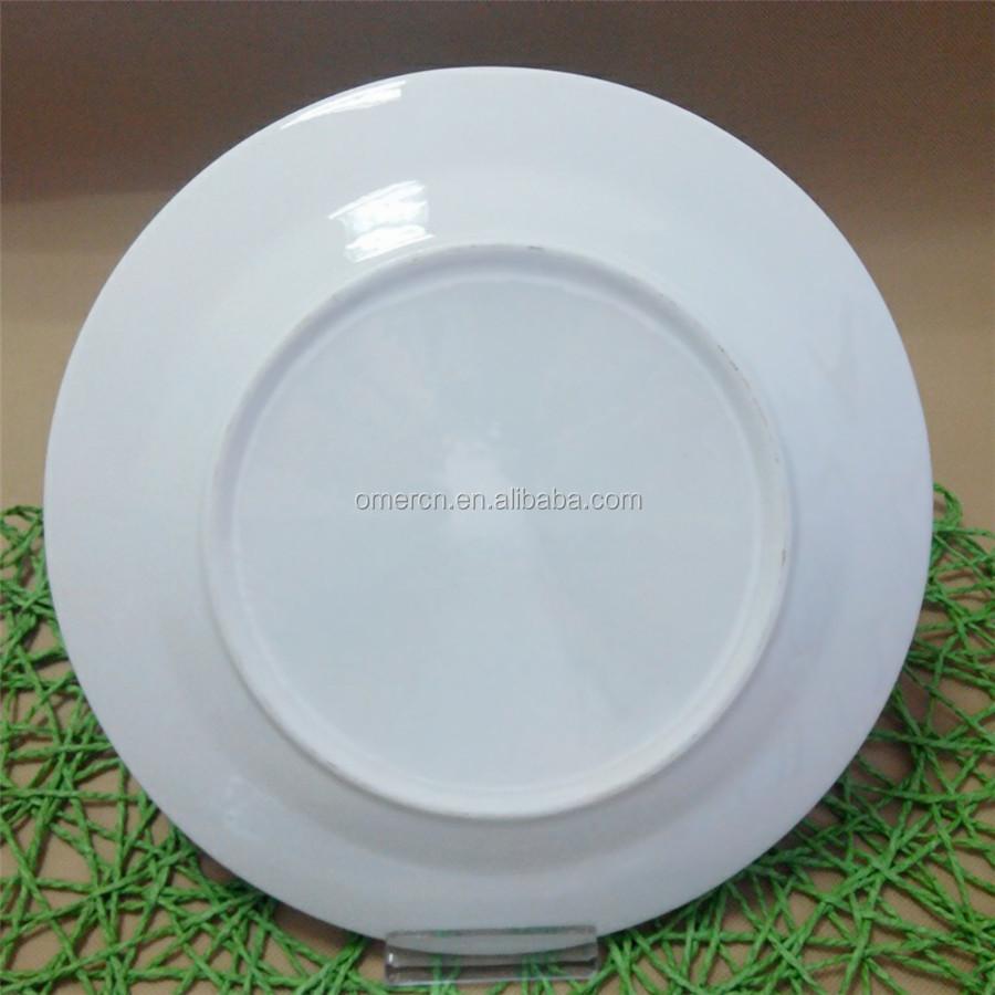 New types ceramic dinner plates with gold flower cheap white dinner plates for weddings & New Types Ceramic Dinner Plates With Gold FlowerCheap White Dinner ...