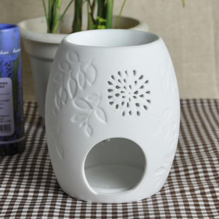 souvenir aromath rapie huile essentielle diffuseur huile chaude c ramique blanc votive. Black Bedroom Furniture Sets. Home Design Ideas