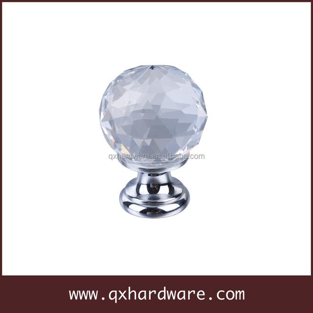 Diamond Crystal Cabinet Knobs /crystal Handles