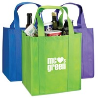 cheap recycled custom logo printing grocery tote shopping non woven bag