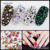 42 Colors Mixed Sizes 1440PCS/Pack Clear AB Non Hotfix Flatback Rhinestones