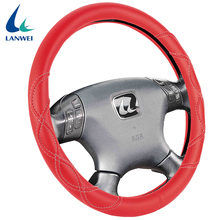 Factory direct wholesale customized color pvc car steering wheel cover for girls