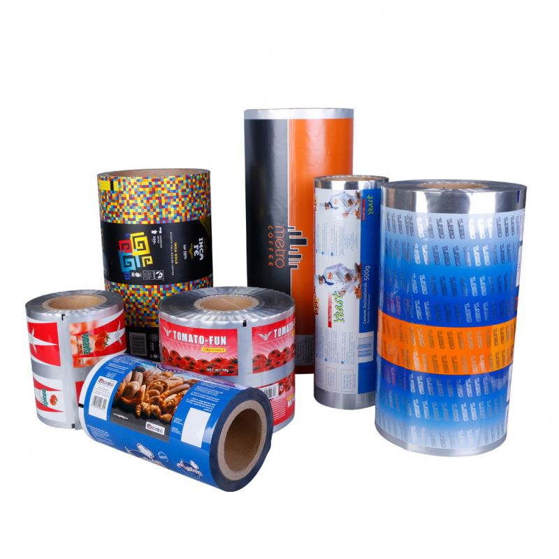 Tabung Opp Metallized Kantong Laminating Film