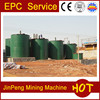NaCN leaching tank, chemical reagent leaching tank, agitation tank in gold CIP plant