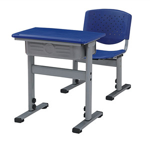 Hot sale metal frames single school desk chair/student desk and chair E808+KZ03