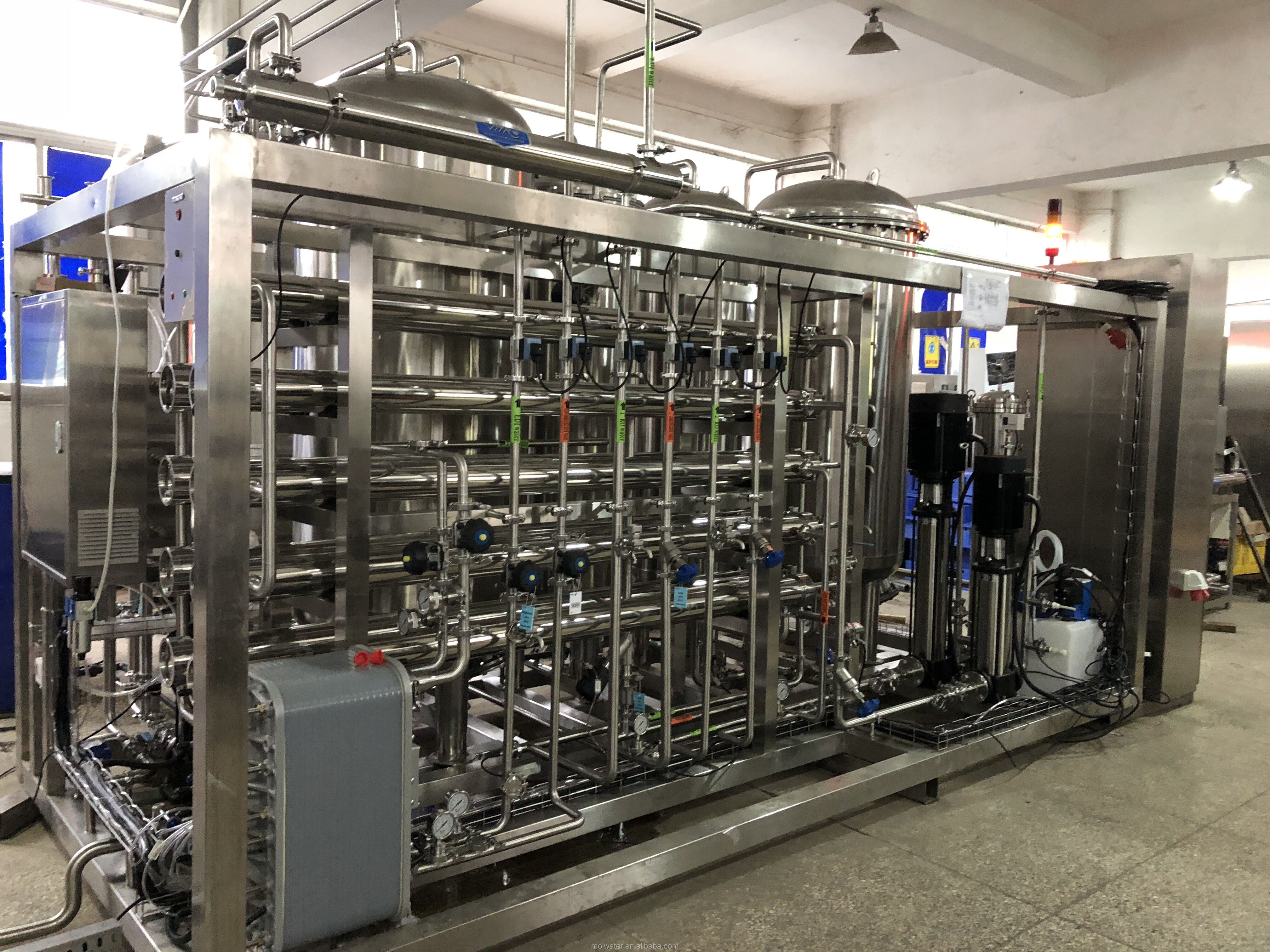 SS316L EDI Pharmacy RO Ultrapure Water System for WFI, View SS316L RO  Ultrapure Water System for WFI, Molecular Product Details from Molewater  System