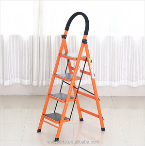 New Design Step Ladder Multi-use Four Steps Folding Ladder Household Aluminum Ladder