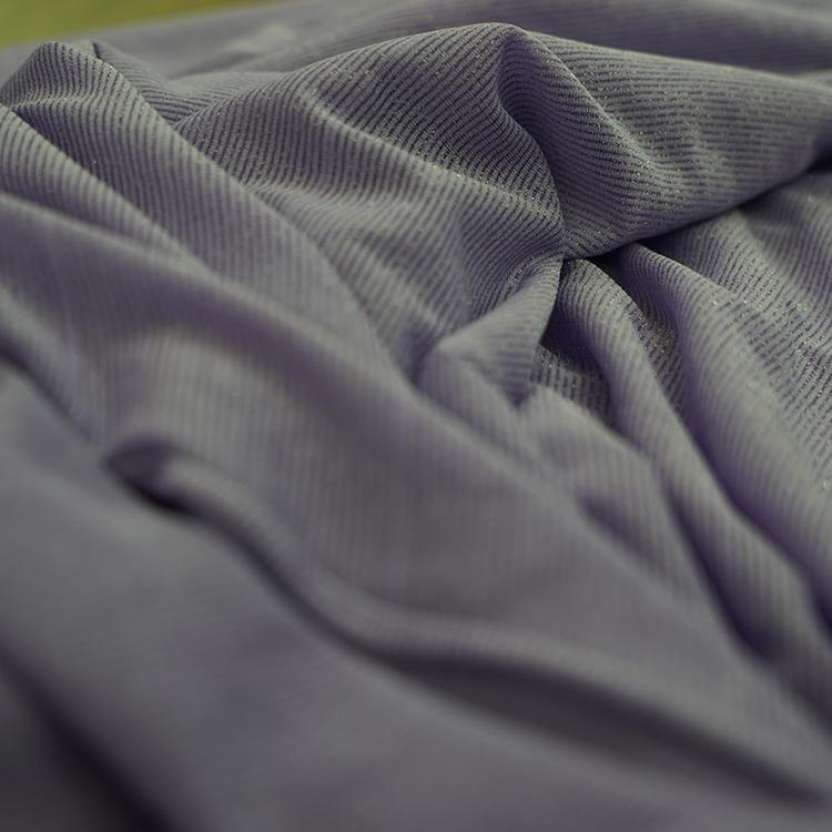 Wholesale Polyester Knit Elastic Shiny Metal Lurex Fabric