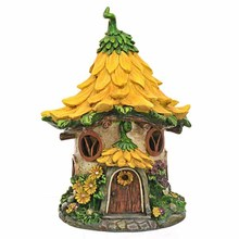Beautiful floral fairy house for garden decoration