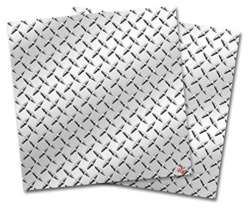 3 Width x 4 Length x 9//16 Thickness Shiny Metallic Rhino Mats DTB3648 Diamond Plate Brite Anti-Fatigue Mat