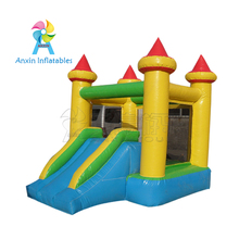 Fire-Proof Material Cheap small size 13' Inflatable airflow bouncer