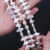 9*10mm freshwater pearl strand cross shape strand wholesale
