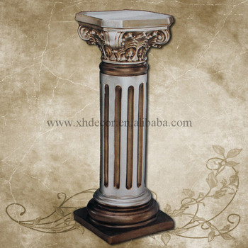 Frp Decoration Roman Column Pillar PU Home Decor Pillars For
