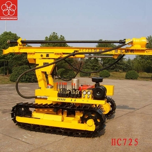 HONGWUHUAN HC725B0 40kw hard rock drilling rig machine with drill bit 90mm