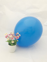 12 inch round blue beautiful party balloons latex