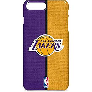 NBA Los Angeles Lakers iPhone 7 Plus Lite Case - Los Angeles Lakers Canvas Lite  Case 156a10da8