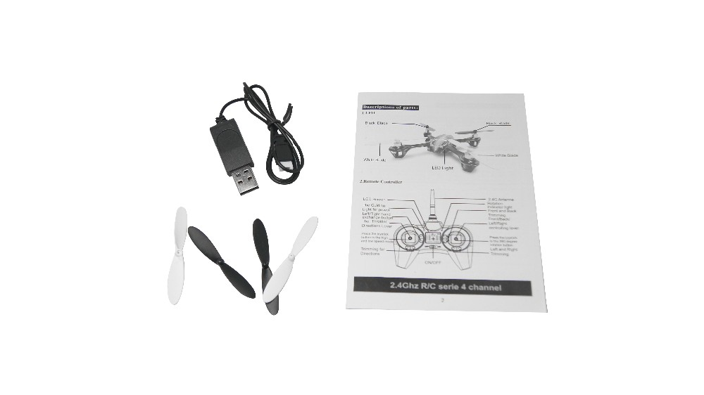 Holy Stone Hs170 Predator Mini Rc Helicopter Drone 2.4ghz 6-axis ...