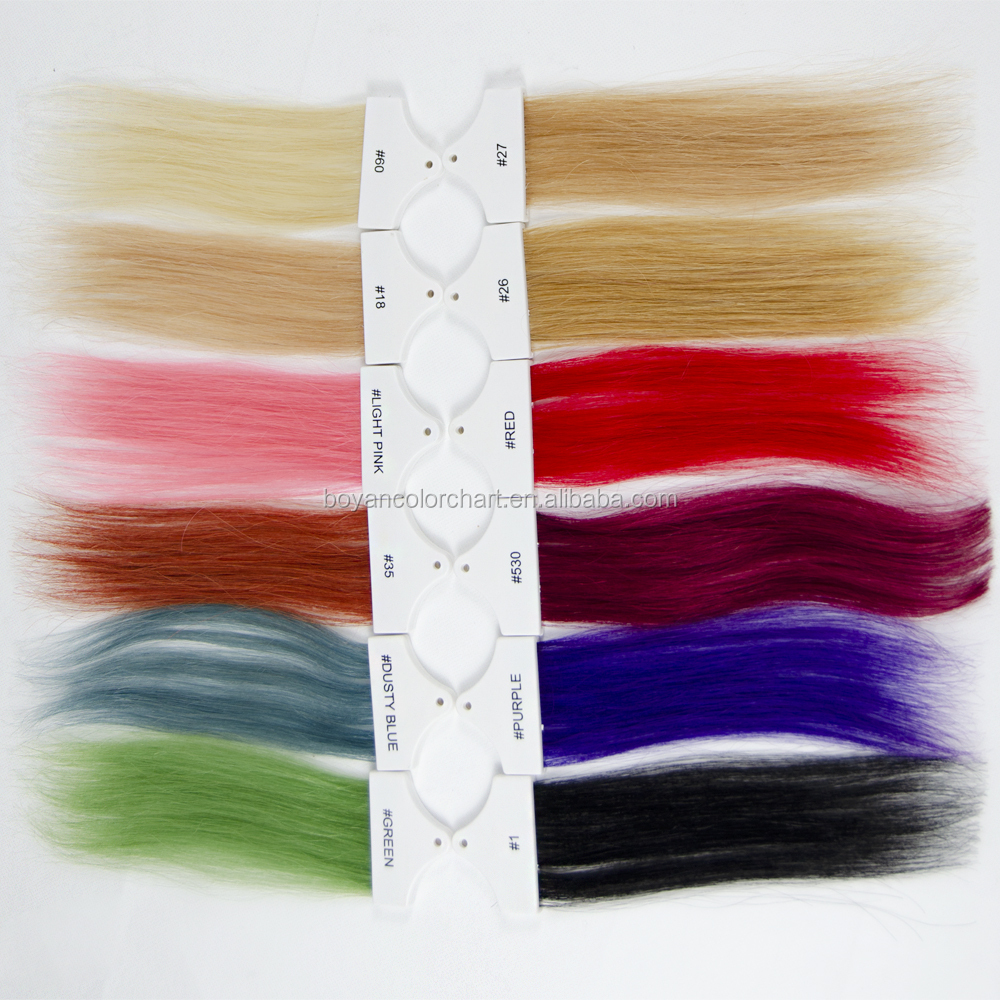 Wholesale professional human hair color dying testing
