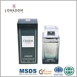 Lonkoom charm 100ml attractive men perfume