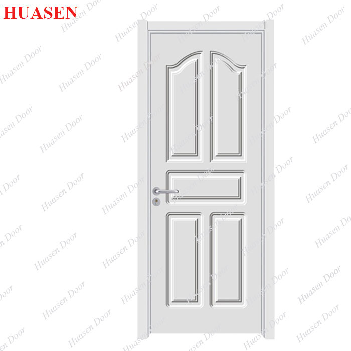 Interior Door MDF Panel PVC Film with Grained Effect Model HM-005