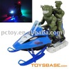 Mini 4 ch real rc snowfield motorcycle electric motorbike toy