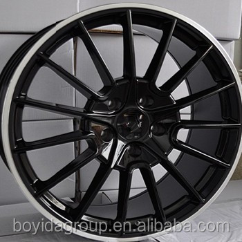 F861517 silver /black car alloy wheels 16 14 15 inch car rims 5x100/112