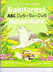 Rainforest ABC Dot-to-Dot Adventure (Fun Learning Activity)