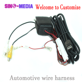 custom truck motorcycle toyota 28 pin automobile excavator car auto cable  tractor trailer fuel wiring harness