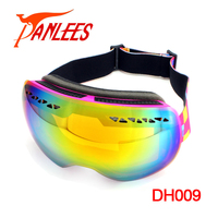 2018 hot sale custom ski glasses PC Double Layers Winter Snow Boarding goggles