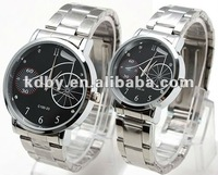 Stainless steel bicycle best coupling watch for valentine;s day