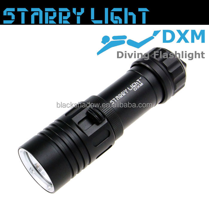 StarryLight DXM xm-l2 850 lumen underwater led dive torch