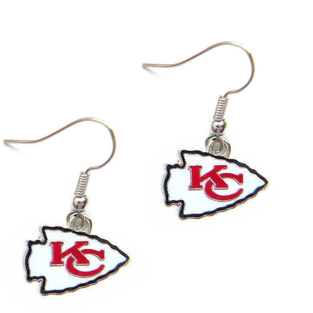 Get Quotations · Kansas City Chiefs Dangle Logo Earring Set Charm Gift NFL  Kansas City Chiefs Dangle Logo Earring e68c5e3be