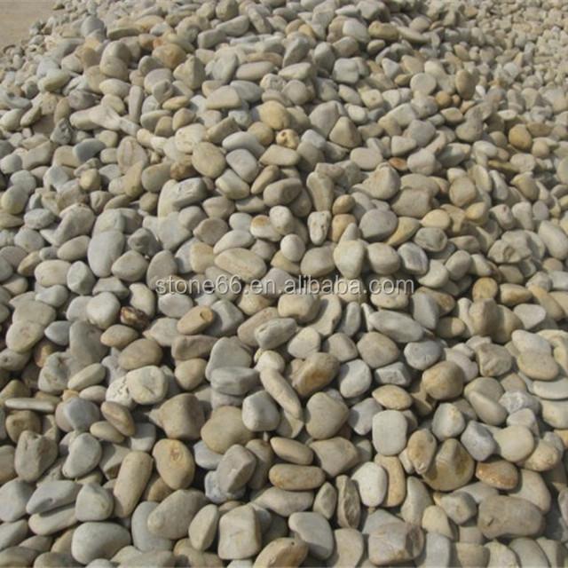 Garden Decorative Mixed Cheap River Stone Pebbles Landscape Stone