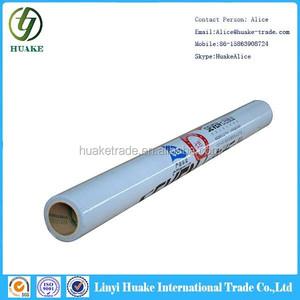 pe milk white protective film of bulk plastic wrap