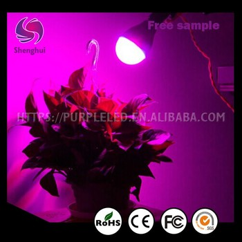 Shenghui FACTORY CE 2017 best selling low price 12w plant light bulb red blue light LED plant grow light