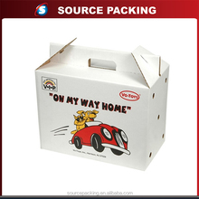 Custom pet carrier cardboard packaging box