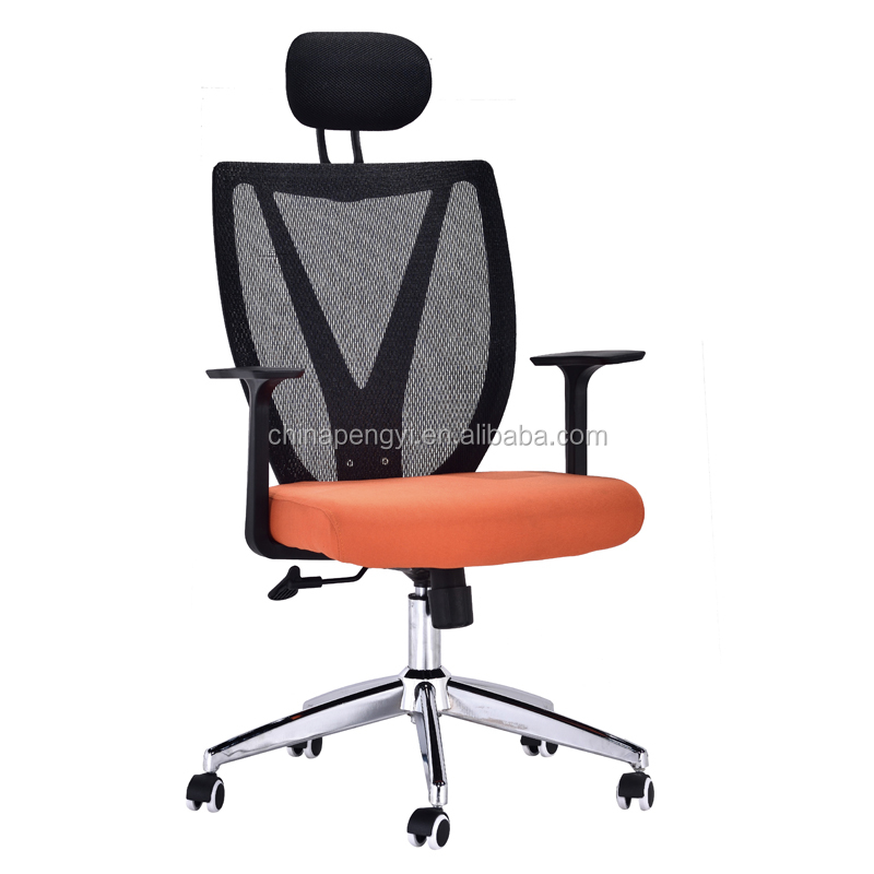 Offfice Furniture Mesh Ergonomic Office Chair Rolling Design Staff Office Chair