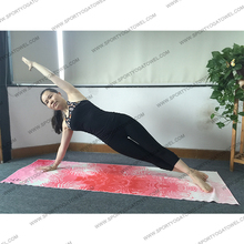 Yoga Mat Towel High Quality Digital Print Microfiber Lightweight Improve Hot Yoga Pilates Bikram and Sports