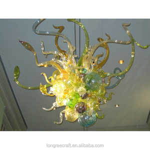 Chihuly Designed Chandelier Hand Blown Glass Ball Chandelier Pendent Light Antique Style Small Cute Chandelier