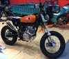 125cc new design motorcycle with Euro 4