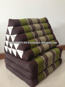 Thai Traditional Triangle Pillow / Thai Day Bed With Mattress 3 Fold 15 Holes Tcs1001 - Buy ...