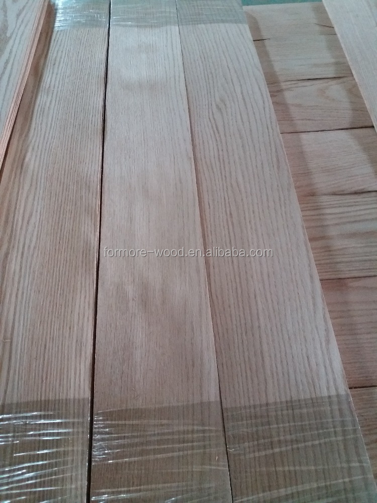 red oak veneer produced by red oak logs used as red oak flooring face veneer