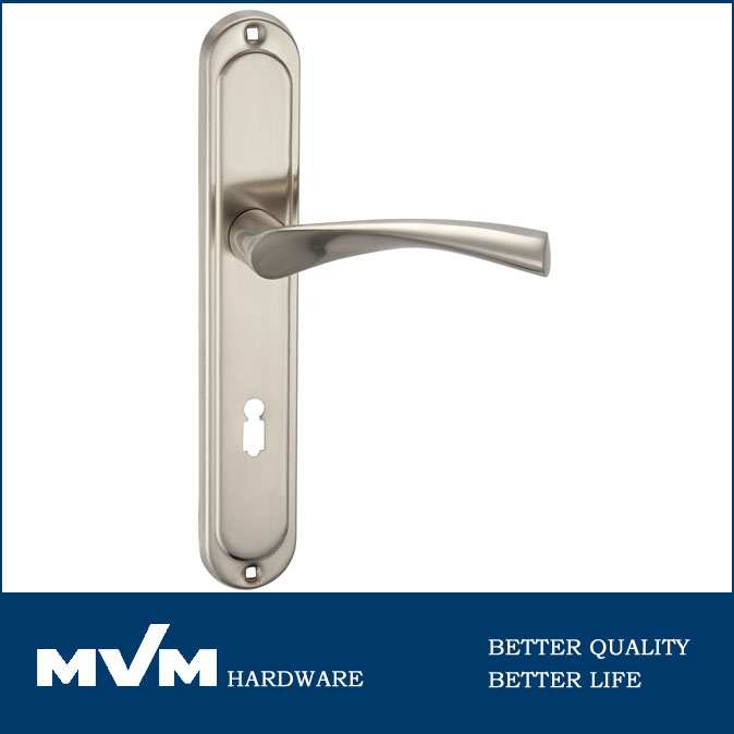 Aluminum Alloy European Door Handle Lock,Interior Door Lever Handles ...